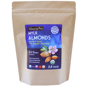 Mylk Almonds - Halves & Pieces for Culinary Creations