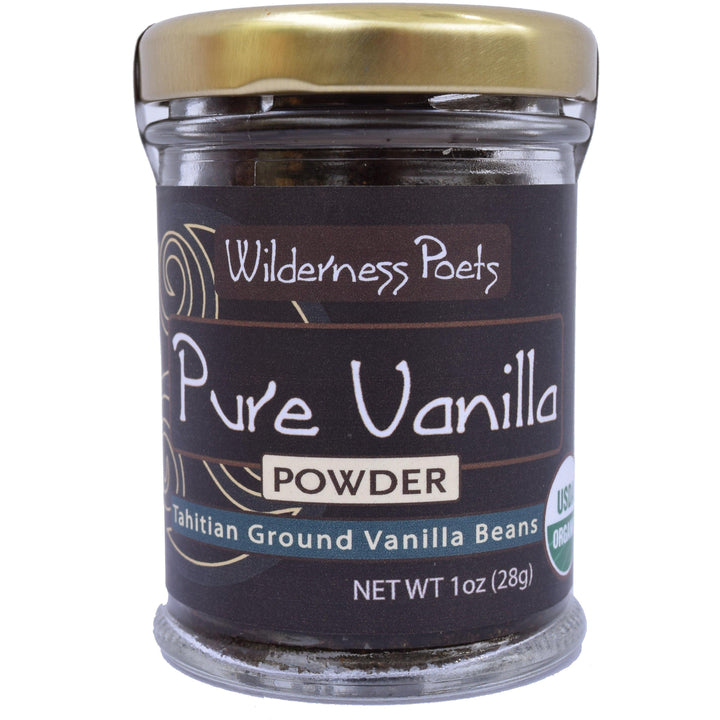 Pure Vanilla Powder | Tahitian Ground Vanilla Beans