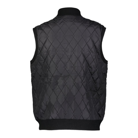 Wool Blend Nylon Quilted Vest