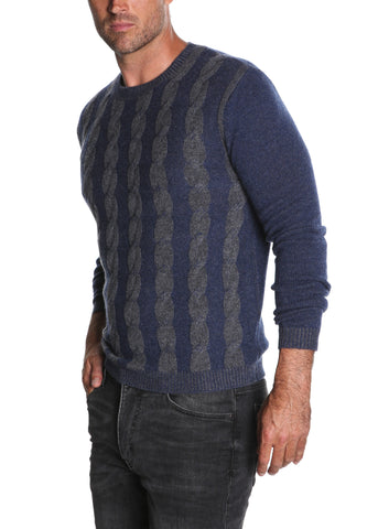 Pure Cashmere Cable Crew