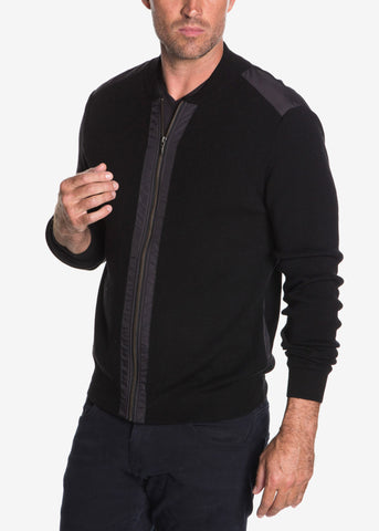 Extra Fine Merino Wool Zip Jacket