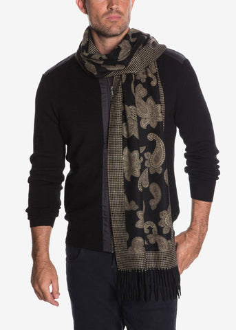 Pure Cashmere Paisley Scarf
