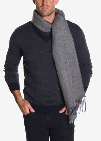 Pure Cashmere Double Side Scarf