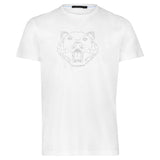 LION By Raffi<BR>Pure Aqua Cotton Crew Tee