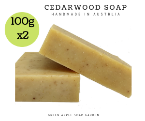 [Goat Milk soap] - Green Apple Soap Garden