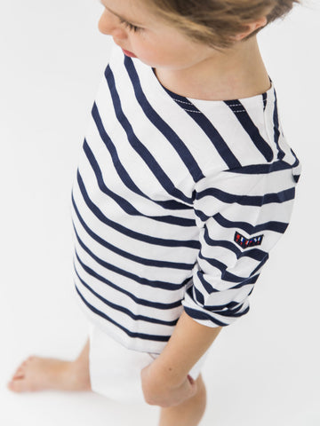 Blue & white sailor shirt