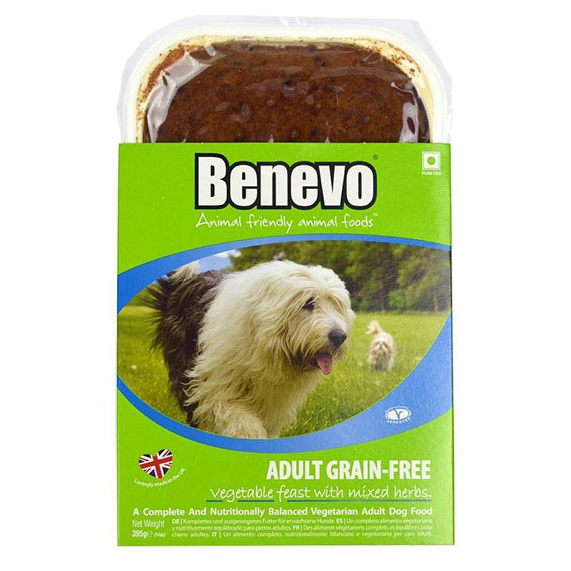 Benevo Grain-free Vegetable Feast With Mixed Herbs 395g x 10