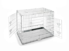 "36"" Chrome Dog Crate"