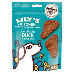 Lilys Kitchen The Mighty Duck Mini Jerky 70g