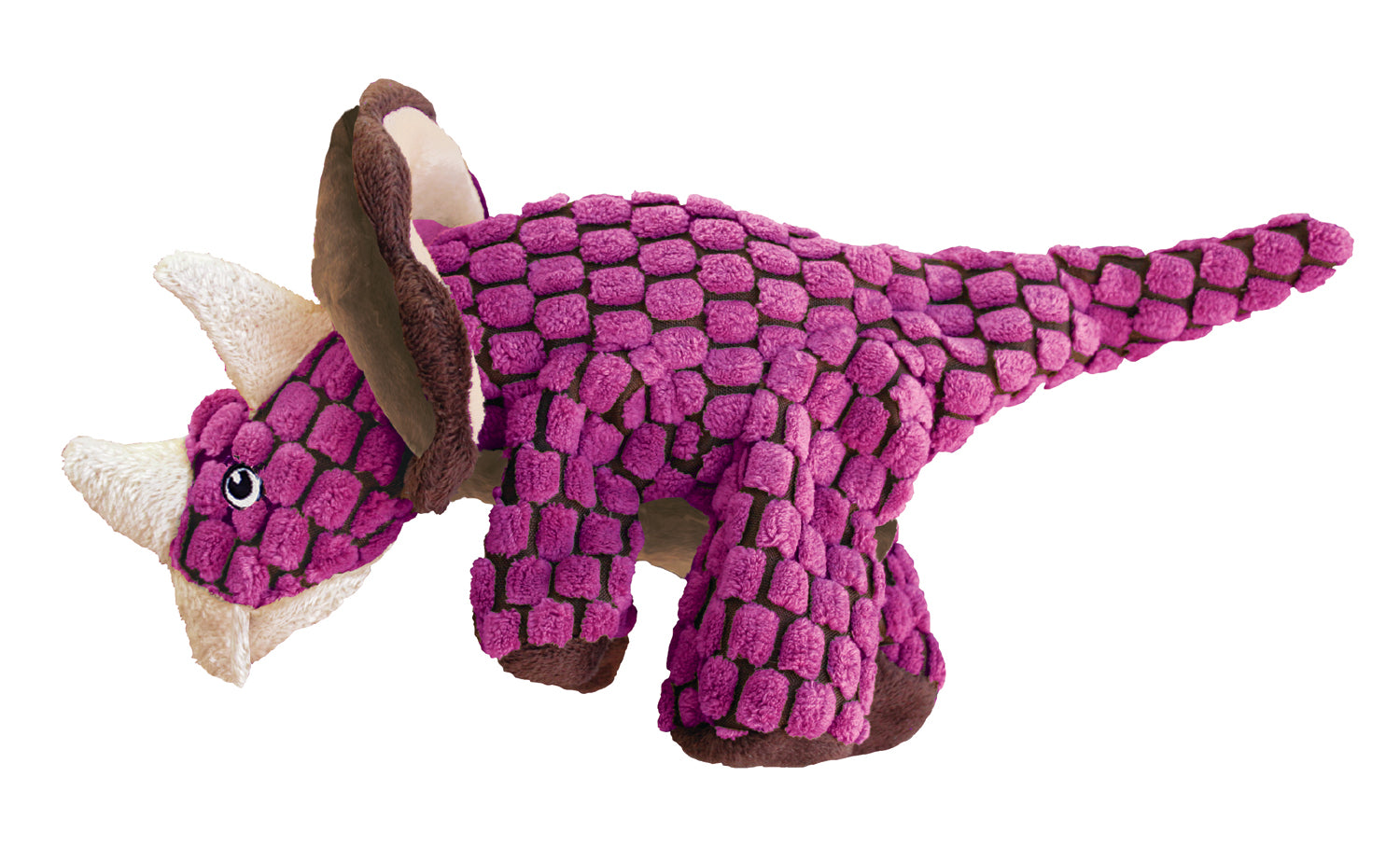 Kong Dynos Triceratops Dog Toy