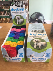 Dog Bag Scented Poop Bags With Tie Handles