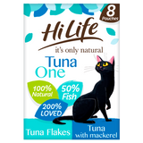 Hilife Its Only Natural Cat Pouch Multipack The Tuna One In Jelly 8x70g