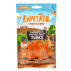 Benevo Pawtato Turmeric And Chicory Root Tubes 90g