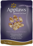Applaws Cat Pouches In Broth 70g