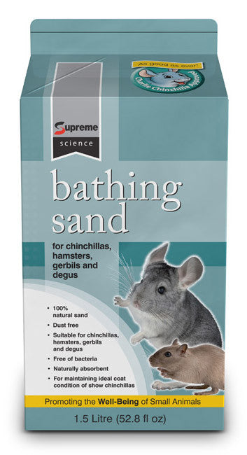 Supreme Science Bathing Sand 1.5ltr
