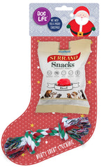 Dog Life Meaty Treat Dog Christmas Stocking