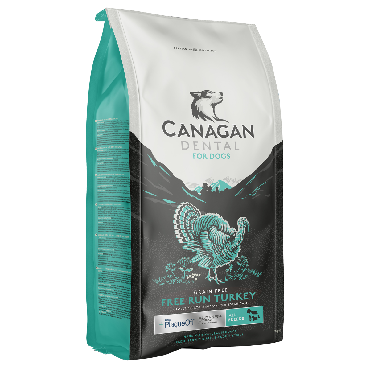 Canagan Free-Run Turkey Dental Dog Food