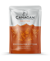 Canagan Chicken FOR KITTENS Wet Pouches 8 x 85g