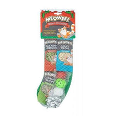 Meowee Christmas Stocking for Cats