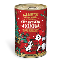 Lilys Kitchen Christmas Three Bird Feast Dinner For Dogs 400g