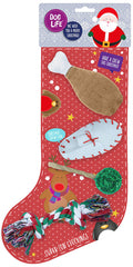 Dog Life Super Chew and Play Christmas Dog Stocking