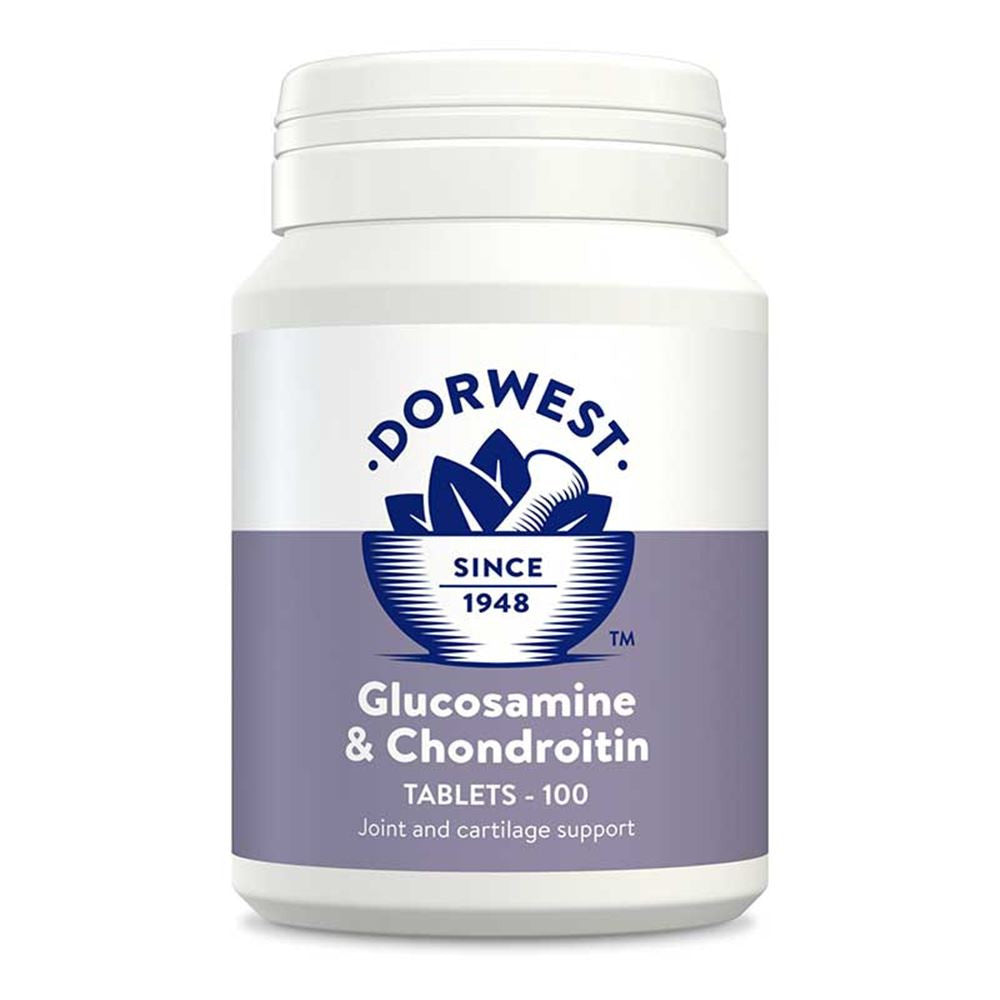 Dorwest Glucosamine and Chondroitin Tablets 100pk
