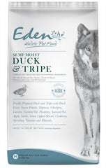 Eden Semi-moist Duck & Tripe Dog Food