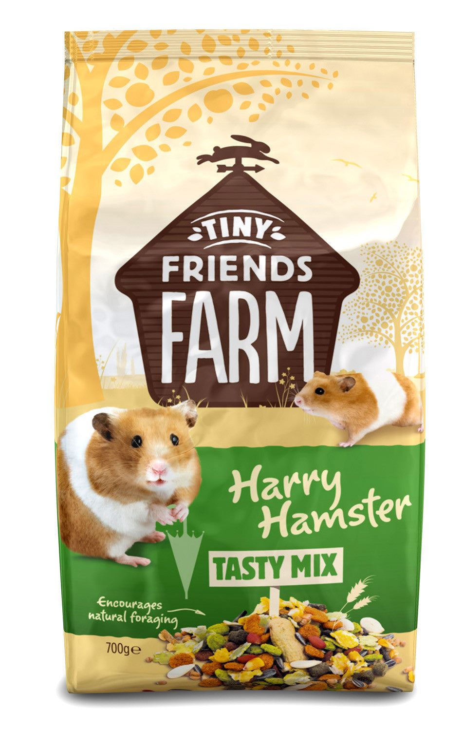 Harry Hamster Food