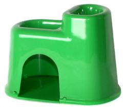 Plastic Hide-a-way Hamster House
