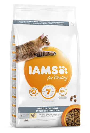 IAMS for Vitality Adult Cat Food - For Indoor Cats