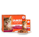 Iams Delights In Gravy Wet Cat Food 12pk