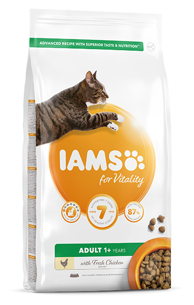 IAMS for Vitality Adult Cat Food - Chicken