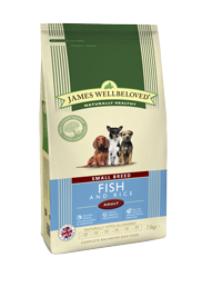 James Wellbeloved Small Breed Dog Food