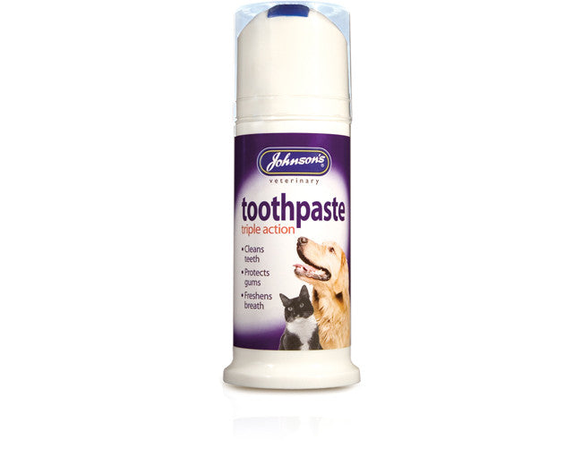 Johnsons Dog and Cat Triple Action Toothpaste 50ml