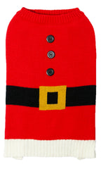Sotnos Santa Costume Jumper For Dogs