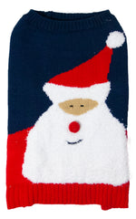 Sotnos Soft Santa Christmas Jumper For Dogs