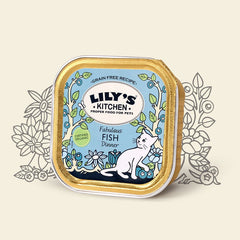 Lilys Kitchen Organic Cat Food Foils 85g