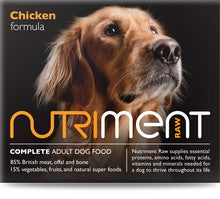 Nutriment Chicken Dog Food