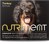 Nutriment Turkey Dog Food