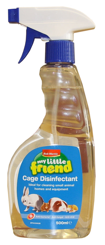 My Little Friend Small Animal Cage Disinfectant 500ml
