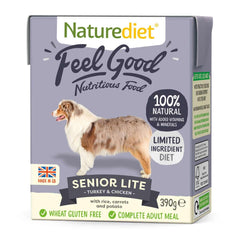 Naturediet Feel Good Senior Lite 380g