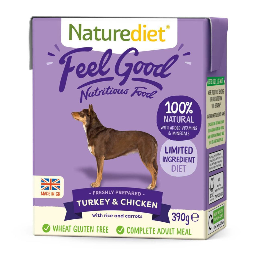 Naturediet Feel Good Turkey & Chicken 390g