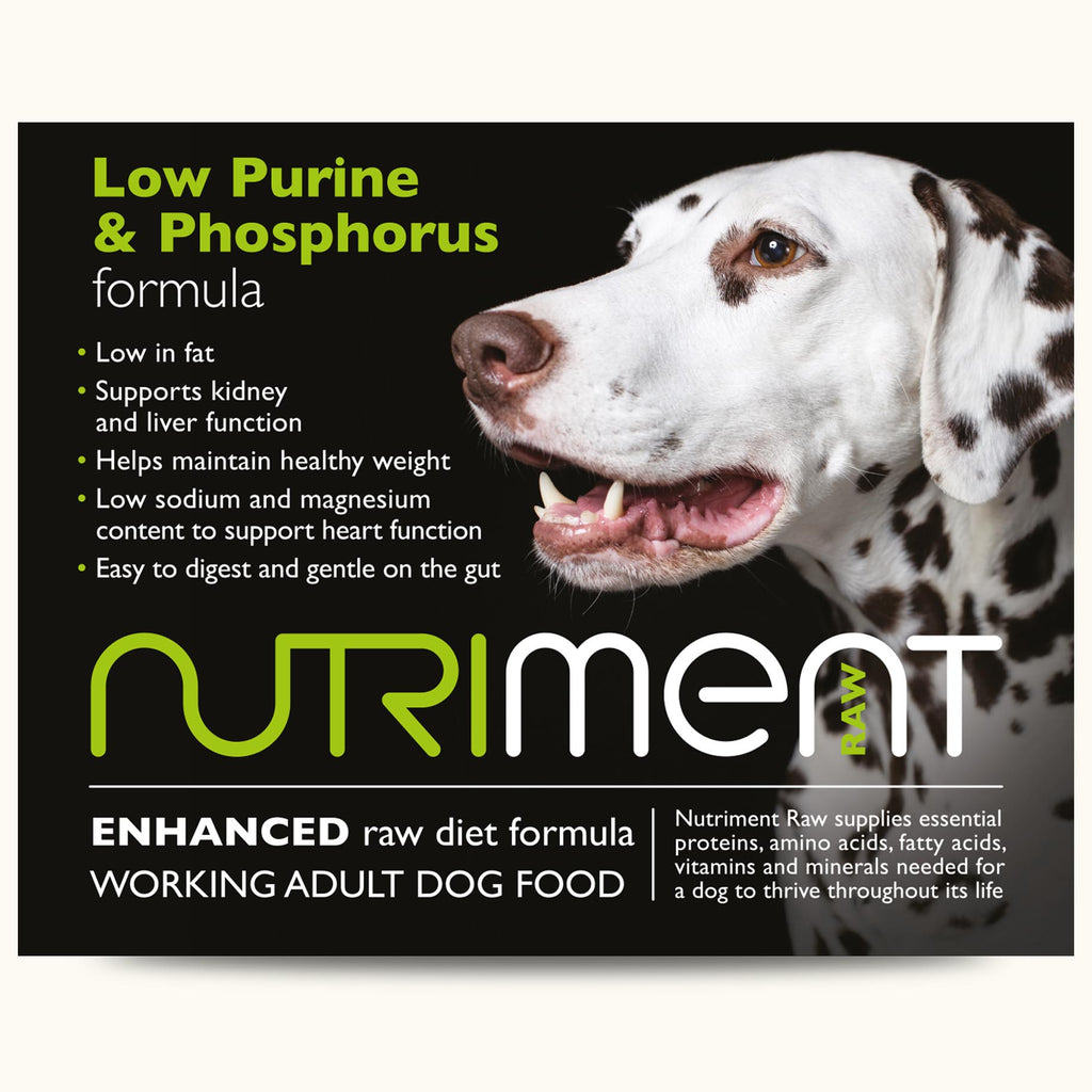 Nutriment Low Purine & Phosphorus Formula Dog Food