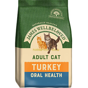 James Wellbeloved Oral Care Cat Food