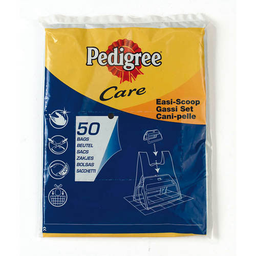 Pedigree Care Easi Scoop Poop Bags 50pk