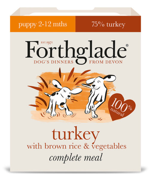 Forthglade Complete Dog Food (With Brown Rice) 395g x 7pk