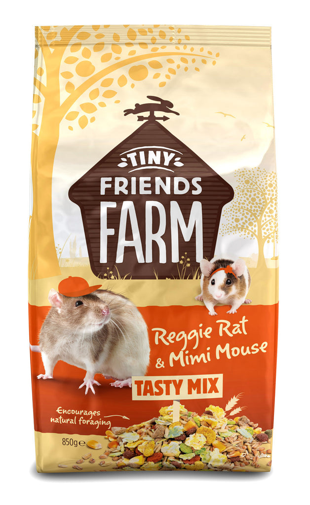 Reggie Rat And Mimi Mouse Food