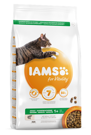 IAMS for Vitality Adult Cat Food - Salmon