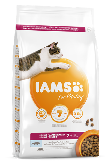 IAMS for Vitality Senior Cat Food - Fish