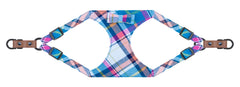 Sotnos Puppy Bow Tartan w/Brown Dog Harness
